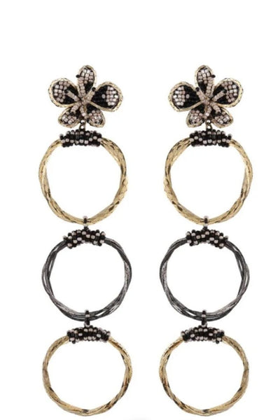 DEEPA GURNANI POOJA EARRINGS JEWELRY