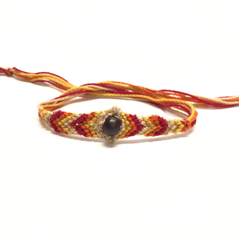 Handmade Thread Rakhi_Red