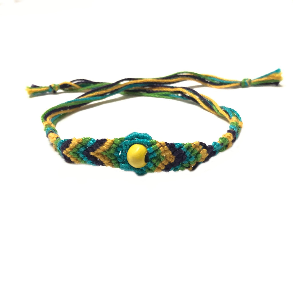 Handmade Thread Rakhi_blue