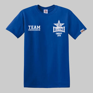 AllStars 2019 Blue Shirt
