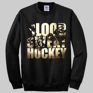 Blood. Sweat. Hockey. Jumper - Cross Check Clothing