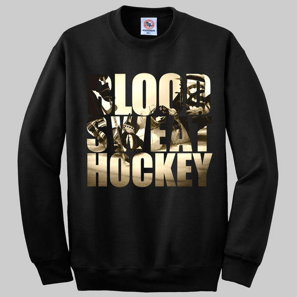 Blood. Sweat. Hockey. Jumper
