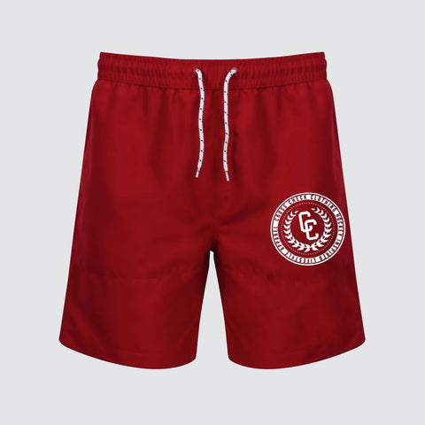 College Board Shorts Red