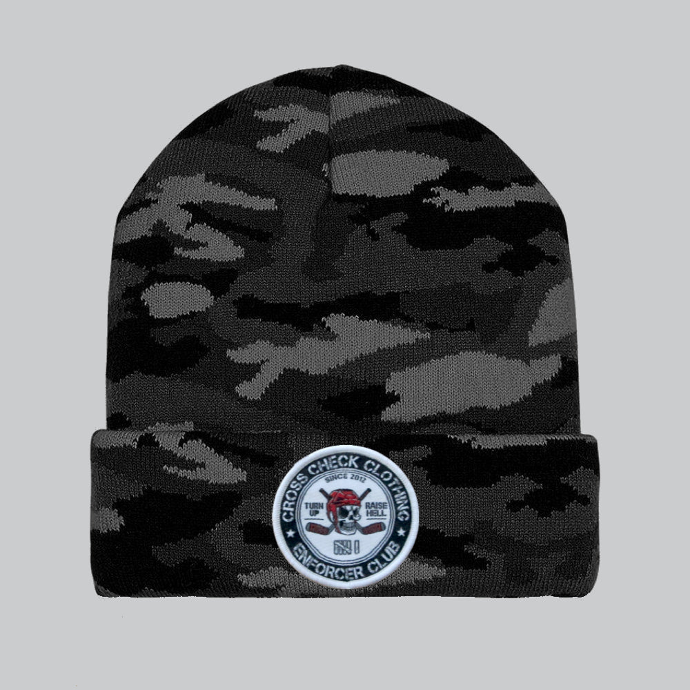Enforcer Club Camo Beanie