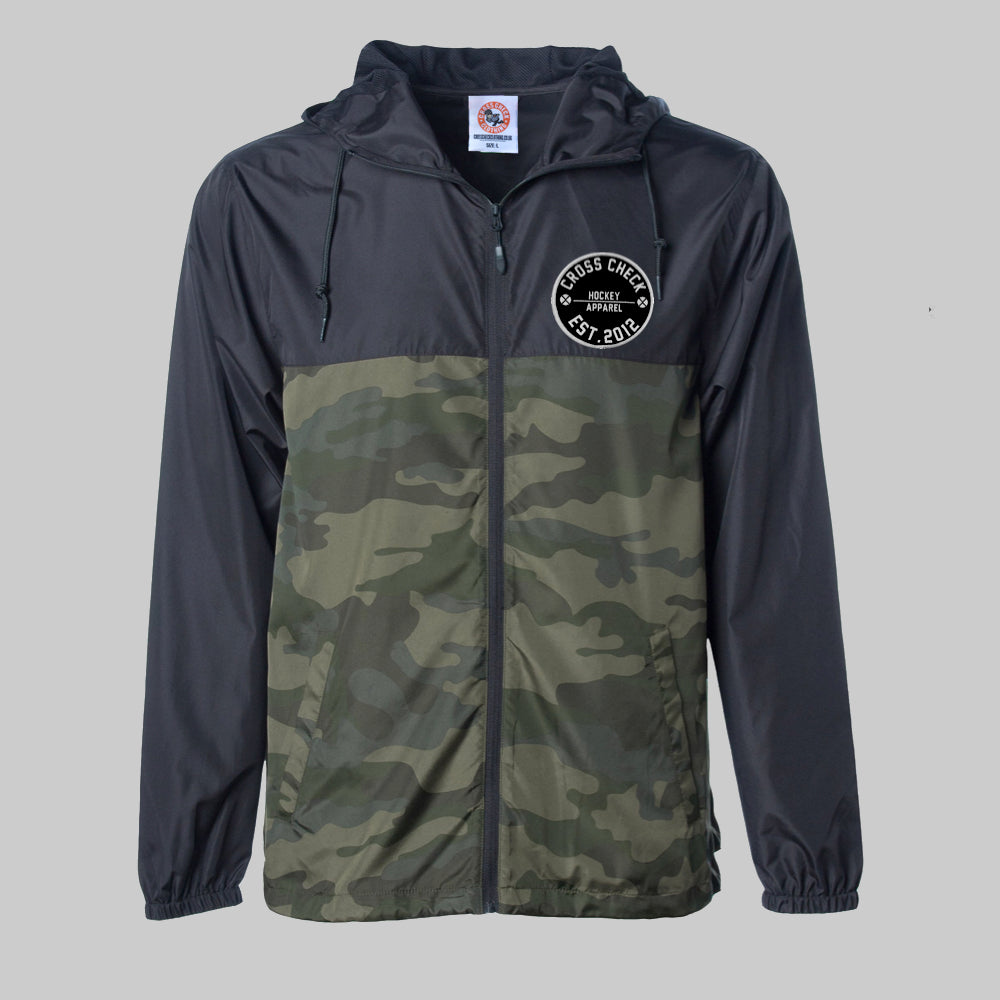 Camo Check Windbreaker