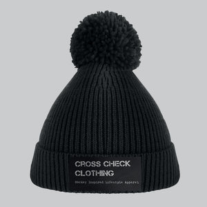 Capture Ski Hat Black - Cross Check Clothing