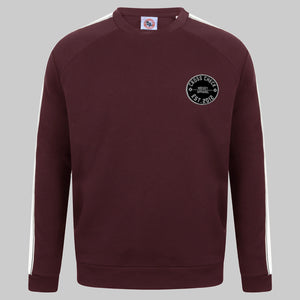 Centre Ice Jumper Burgundy - Cross Check Clothing