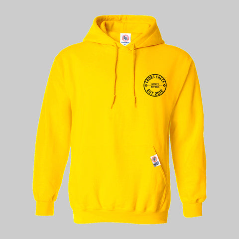 Centre Ice Hoodie Yellow