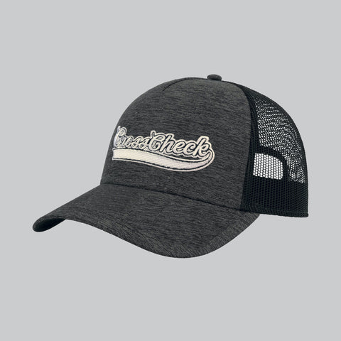Cross Check Baseball Trucker Charcoal - Cross Check Clothing