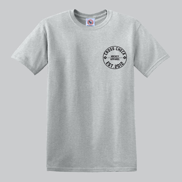 Centre Ice Shirt Grey - Cross Check Clothing