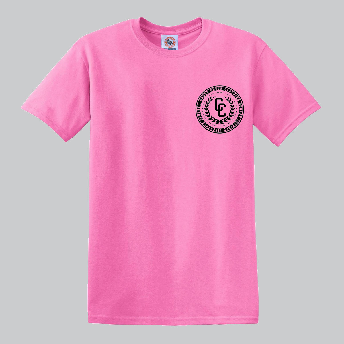 College Pink Shirt - Cross Check Clothing
