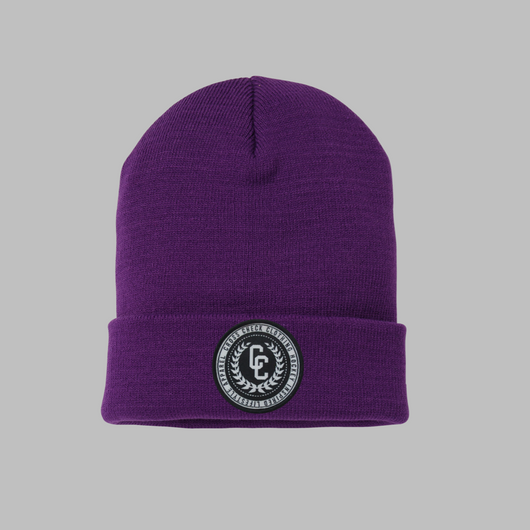 College Purple Beanie