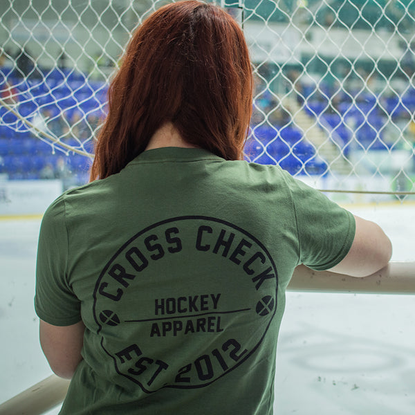 Centre Ice Shirt Camo - Cross Check Clothing