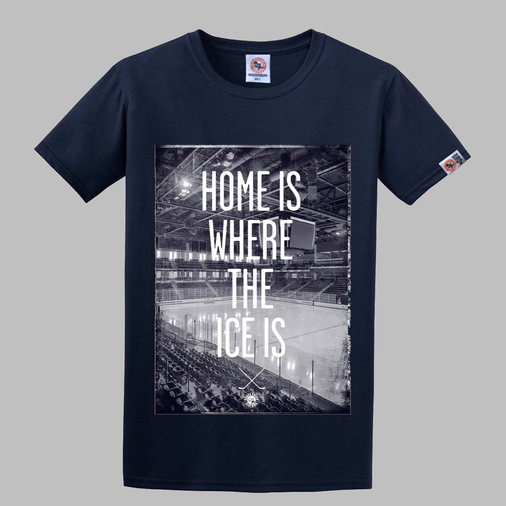 Home Is Where Shirt Navy