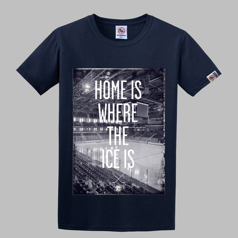 Home Is Where Navy Shirt