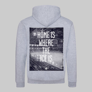 Home Is Where Pull-Over Hoodie - Cross Check Clothing