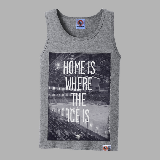 Home Is Where Vest - Grey