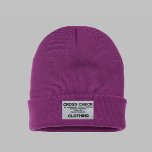 Independent Purple Beanie