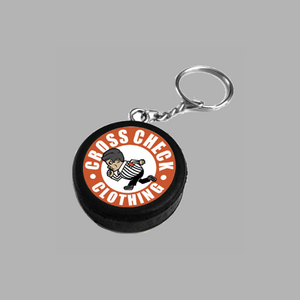 Puck Key Ring - Cross Check Clothing
