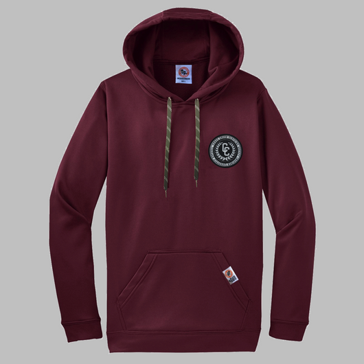 Locker Room Hoodie Burgundy