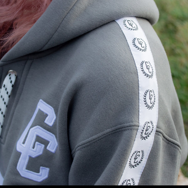 Classic Laces Hoodie Grey