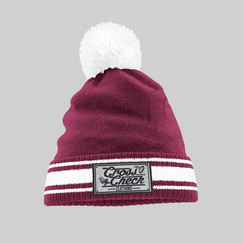 Original Burgundy Varsity Ski Hat