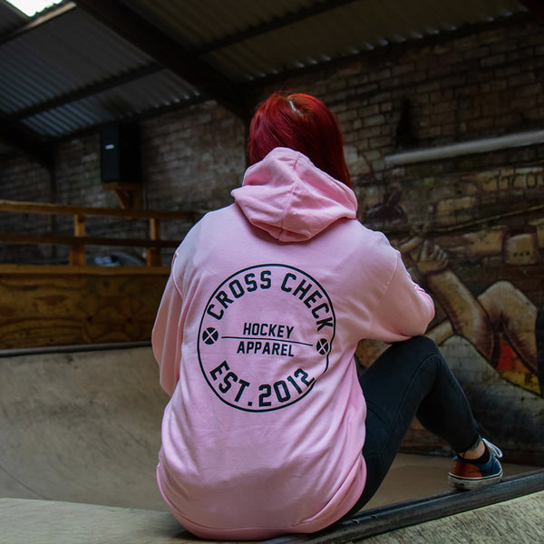 Centre Ice Hoodie Pink