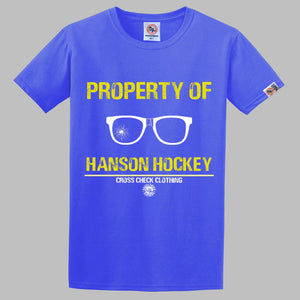 Property of Hanson Hockey Shirt
