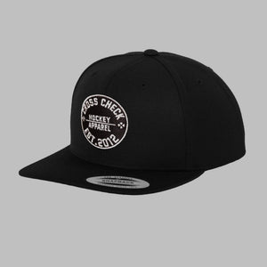 Centre Ice Snapback Black - Cross Check Clothing