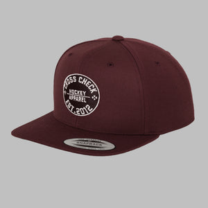 Centre Ice Snapback Burg - Cross Check Clothing