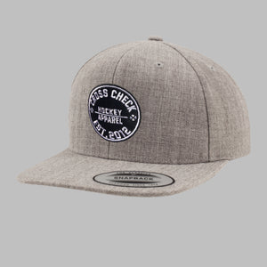 Centre Ice Snapback Grey