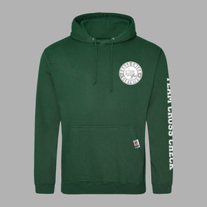 Stadium Series Hoodie - Green - Cross Check Clothing