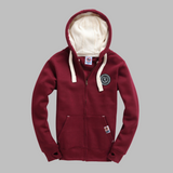 Supa-Soft Zip-Up Burgundy