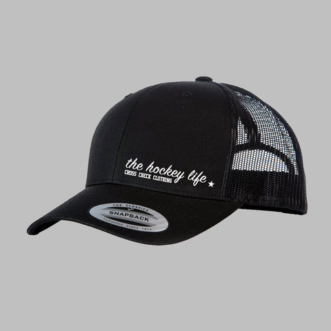 HockeyLife Trucker Black - Cross Check Clothing