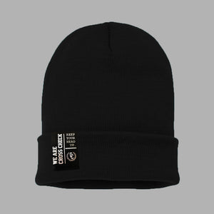 We Are Cross Check Beanie