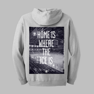 Home Is Where Zip-Up Hoodie - Cross Check Clothing