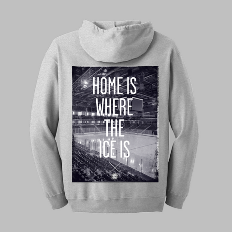 Home Is Where Zip-Up Hoodie