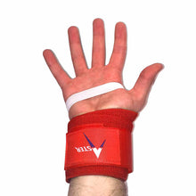 Aster Wrist Wraps on Hand in Palm