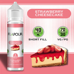 Flapour - Strawberry Cheesecake - Nordic E cigg