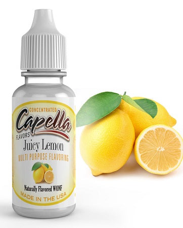 Capella Flavor - Juicy Lemon - Nordic E cigg