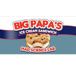 Mad Science - Lab Essence - Big Papa's Ice Cream Sandwich - Nordic E cigg