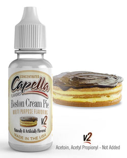 Capella Flavor - Boston Cream Pie V2 - Nordic E cigg