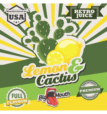 Big Mouth Essens - Retro Juice - Lemon & Cactus