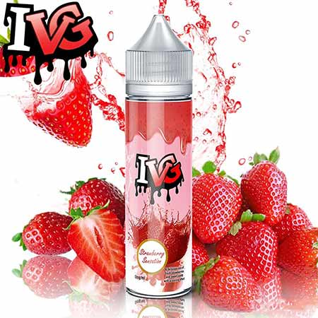 I VG - Shake N Vape - Strawberry Sensation