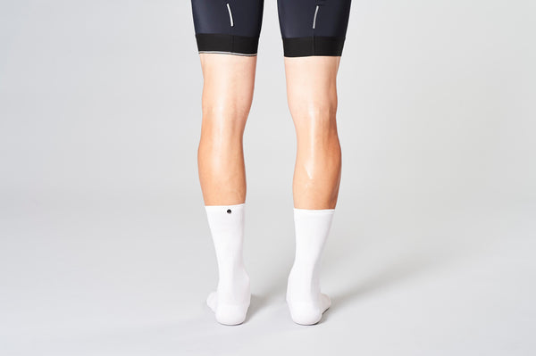Material view classic white cyclingsocks fingerscrossed
