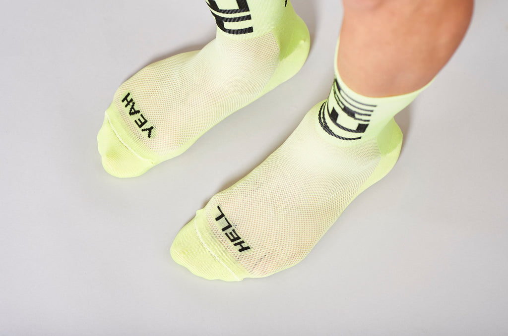hell yeah socks cyclings socks fingerscrossed