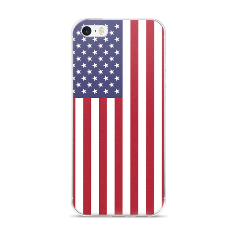USA iPhone 5/5s/Se, 6/6s, 6/6s Plus Phone Case