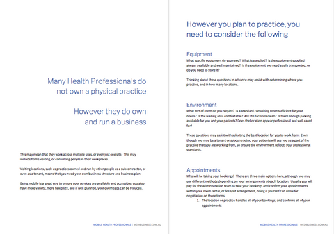 Mobile Health Professionals: Preview