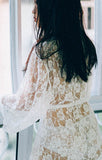 Lacy Bathrobe