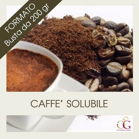 Caffè Solubile - officinegastronomiche